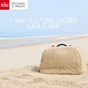 ... month vacation. twice a year- vacation quotes - vacation inspiration