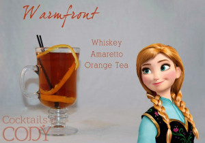 Disney Cocktails: Elsa and Anna FROZEN Inspired Drinks