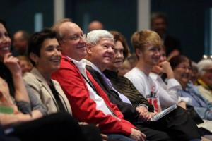 Gov Bob Graham center enjoys Dave Barry and Sandra Tsing Loh