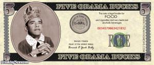 Barack Obama Food Stands Welfare Entitlements