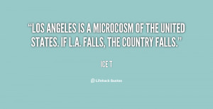 Los Angeles is a microcosm of the United States. If L.A. falls, the ...
