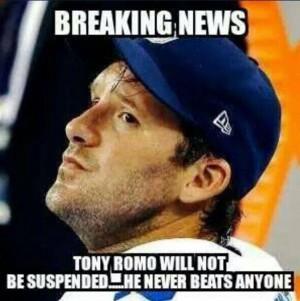 Good guy Tony Romo