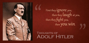 Adolf Hitler Success Inspirational quotes and Thoughts