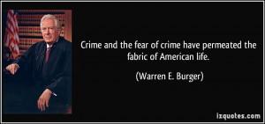 More Warren E. Burger Quotes