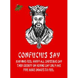 funny_confucius_saying_christmas_greeting_card.jpg?height=250&width ...