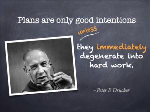 Quotes – Peter F. Drucker
