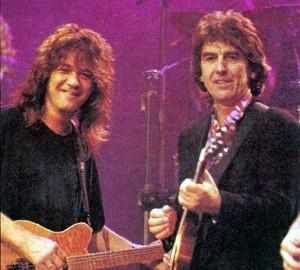... Eddie Vans, Eddie Van Halen, Beatles Friends, Pick Up Vans, George