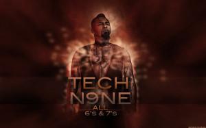 TECH N9NE gangsta rapper rap hip hop poster r wallpaper background