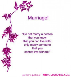 Quotes And Poems About Marriage ~ Friendship Wishes and Quotes