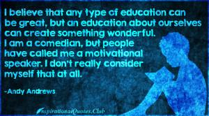 ... , comedian, people, motivational, speaker, intelligent, Andy Andrews