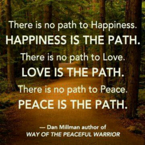 Way of the Peaceful Warrior i had this book for 10 years before i read ...