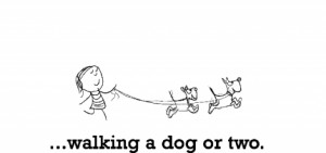 Dogs Walks, Happy Quotes