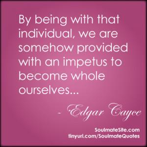 Famous Quotes About Soul Mates