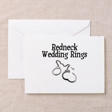 Redneck Wedding Rings Greeting Cards (Pk of 10) for