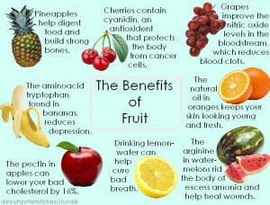 Benefits of eating raw fruit - Austin Chiropractic - Dr. James Lee