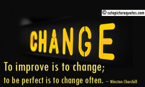 Quotes About Change Change