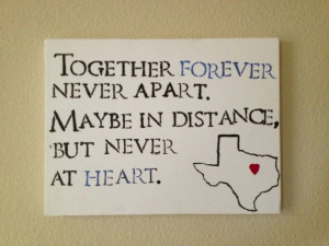 Quotes, Distance Relationship Quotes, Friends Distance Quotes, Long ...