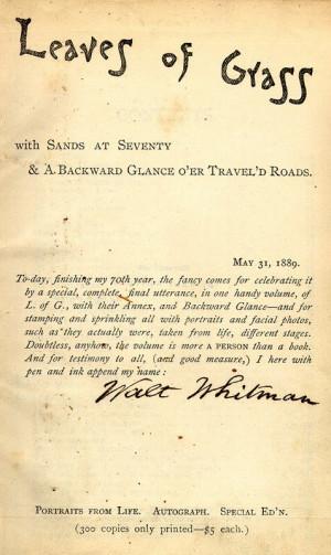 ... largo de la pelicula se hace una especial referencia al gran Whitman