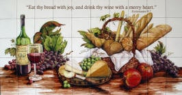 Eat Thy Bread with joy and drink thy wine with a merry heart.