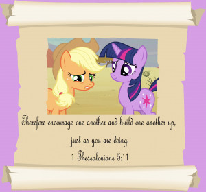 MLP Christian quotes. Twilight Sparkle by GennadyKalugina
