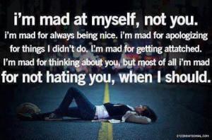 am mad...