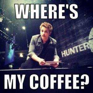 Only Hunter's fans would know!!