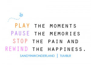 Play the moments quote