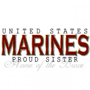 All Graphics » my brother is a us marine