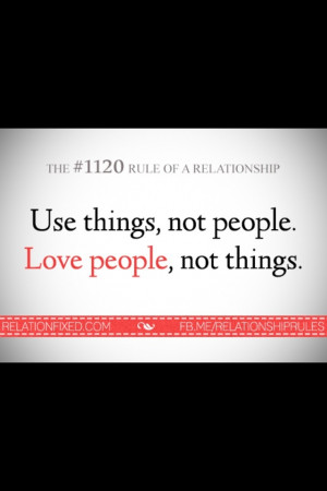 Wise quote , relationship rules