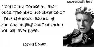 Musicians Quotes About Life David bowie quotes
