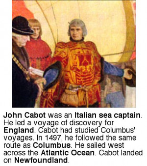 John Cabot Obstacles