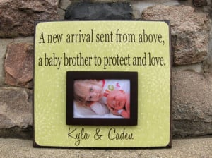 ... New Arrival, birthday gift, siblings, brother, sister, quote, poem