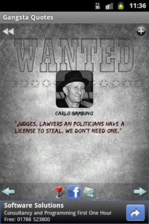 Gangsta Quotes