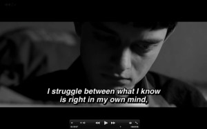 Amazing Movie Quotes About Love: Life Is A Constant Struggle Quote On ...