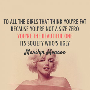 Young , Wild and Free | Marilyn Monroe Quote (About be strong ...