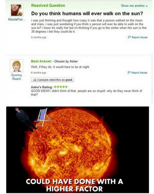 You Think Humans Will Ever Walk The Sun