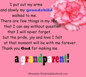 grandchild #pride #joy #love #family #precious #grandparent #quote