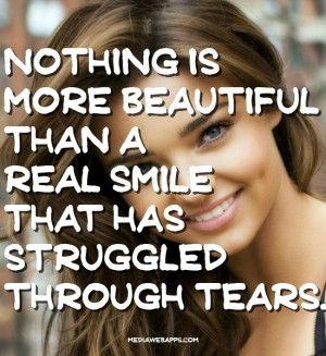 Quotes About Smiling Through The Tears Quotes about smiling through