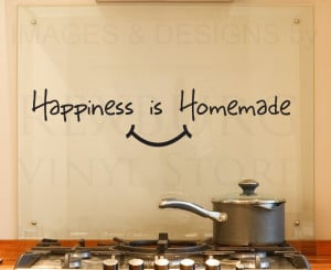 Details about Wall Decal Quote Vinyl Sticker Art Removable Happiness ...