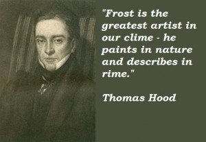 Thomas hood famous quotes 3