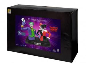 harley quinn bank | SDCC 2014: Harley Quinn and Joker Resin Bank Set ...