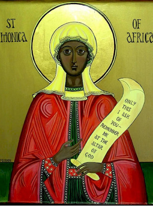 St. Monica, Mothers, Manutergium and Father Michael