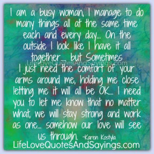 Am A Busy Woman..