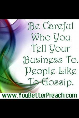 can't stand gossip!!