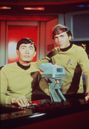 ... image courtesy gettyimages com names walter koenig george takei walter