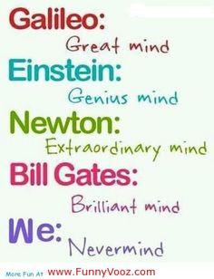 ... genius mind newton extraordinary mind - funny birthday friends
