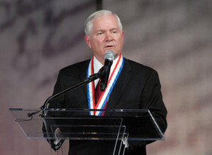 Robert Gates Awarded 2011 Liberty Medal At Independence Hall