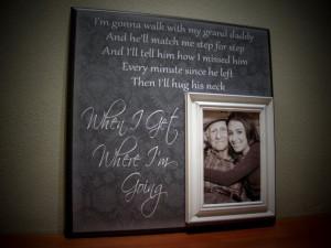 Picture Frame for Grandpa, Grandfather, Grandaddy, PaPa, Memorial ...