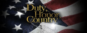 Duty. Honor. Country.