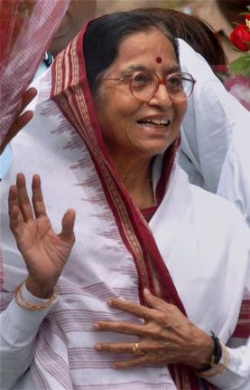 PRATIBHA PATIL IN NEW DELHI